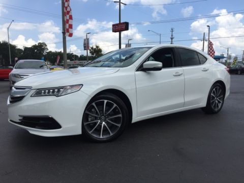 Pre-Owned 2015 Acura TLX V6 Tech 4D Sedan AWD