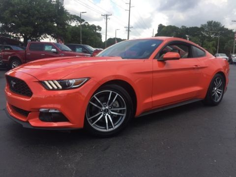 Certified Pre-Owned 2016 Ford Mustang EcoBoost Premium 2D Coupe