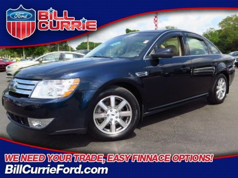 Pre-Owned 2008 Ford Taurus SEL FWD 4D Sedan