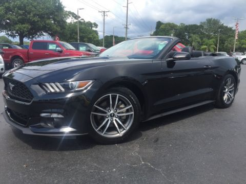 Certified Pre-Owned 2016 Ford Mustang EcoBoost Premium 2D Convertible
