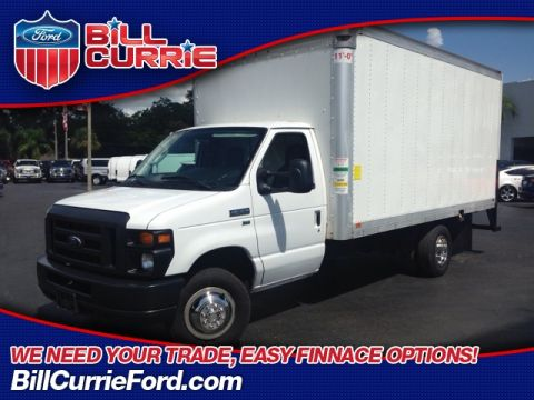 Pre-Owned 2015 Ford E-350SD DUEL REAR WHELL SMYRNA TRUCK/ WHITING BOX TRUCK
