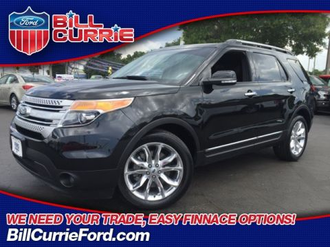 Certified Pre-Owned 2015 Ford Explorer XLT 4D Sport Utility