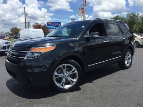 Certified Pre-Owned 2015 Ford Explorer Limited 4D Sport Utility
