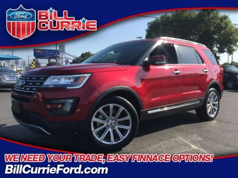 Certified Pre-Owned 2016 Ford Explorer Limited 4D Sport Utility AWD