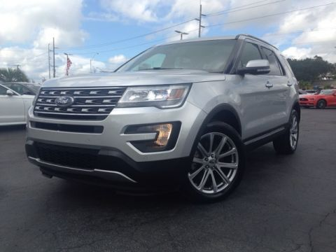 Pre-Owned 2016 Ford Explorer Limited 4D Sport Utility AWD