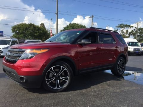 Certified Pre-Owned 2015 Ford Explorer Sport 4D Sport Utility AWD