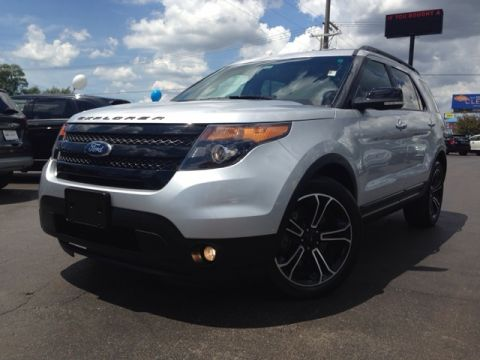 Pre-Owned 2014 Ford Explorer Sport 4D Sport Utility AWD