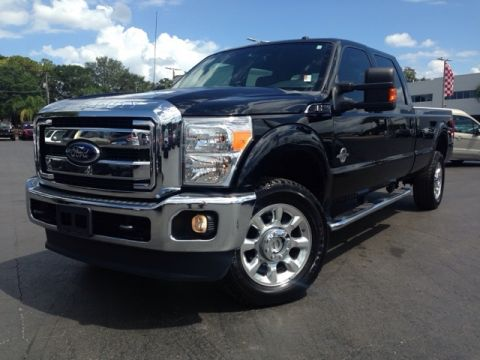 Pre-Owned 2012 Ford F-350SD Lariat 4D Crew Cab 4WD