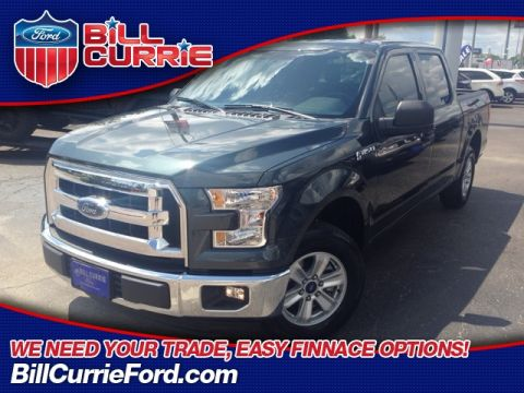 Certified Pre-Owned 2015 Ford F-150 XLT 4D SuperCrew