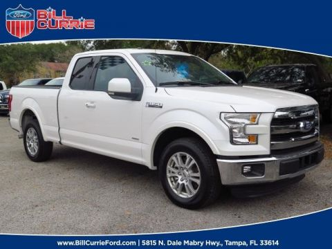 New 2016 Ford F-150 Lariat RWD Super Cab