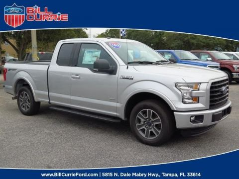 New 2016 Ford F-150 XLT RWD Super Cab