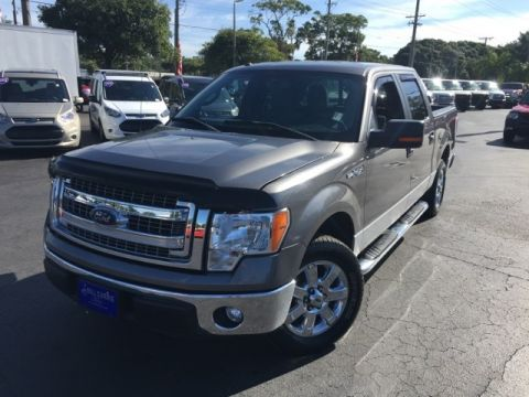 Certified Pre-Owned 2013 Ford F-150 XLT RWD 4D SuperCrew