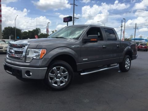 Pre-Owned 2013 Ford F-150 XLT 4D SuperCrew