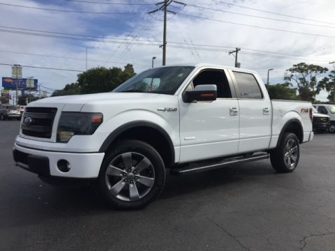 Certified Pre-Owned 2013 Ford F-150 FX4 4D SuperCrew 4WD