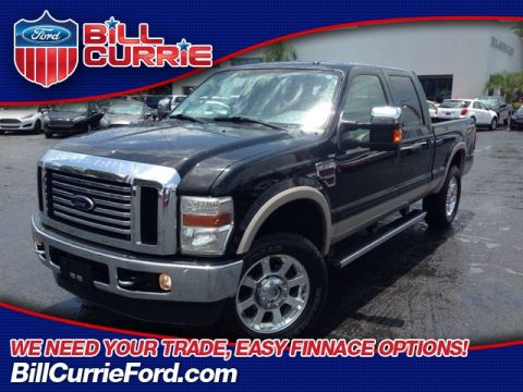 Pre-Owned 2009 Ford F-250SD Lariat 4D Crew Cab 4WD