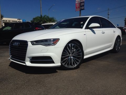 Pre-Owned 2016 Audi A6 2.0T Premium Plus 4D Sedan
