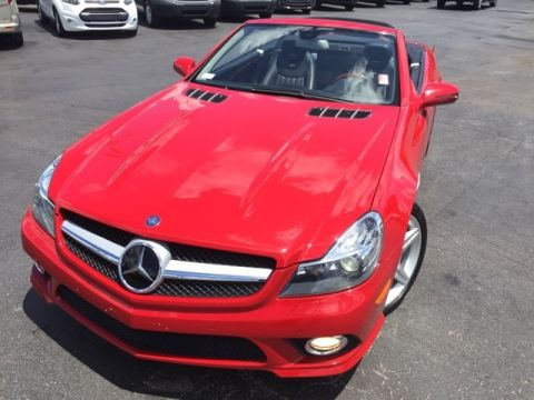 Pre-Owned 2009 Mercedes-Benz SL-Class SL600 2D Convertible
