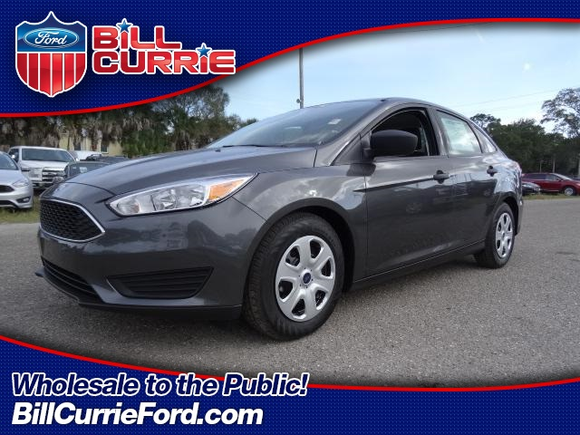 New 2016 Ford Focus S 4D Sedan