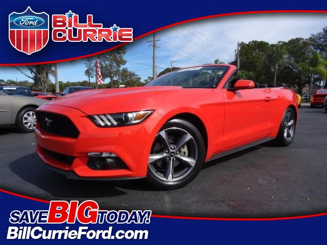 Certified Pre-Owned 2015 Ford Mustang V6 2D Convertible