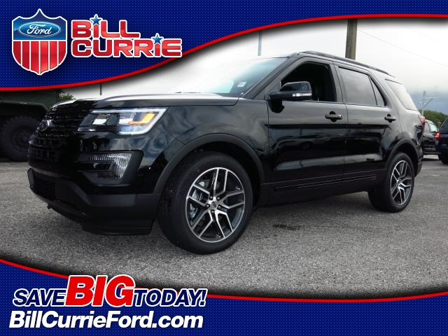 New Ford Explorer Sport