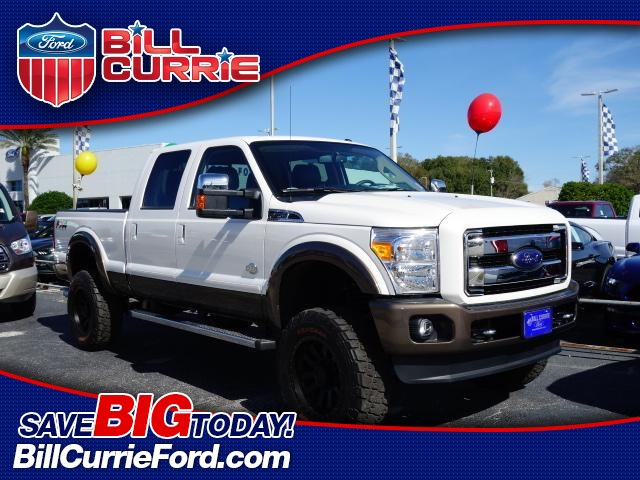 New 2016 Ford F-250SD Lariat 4D Crew Cab 4WD