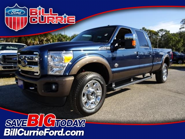 New 2016 Ford F-350SD Lariat 4D Crew Cab 4WD