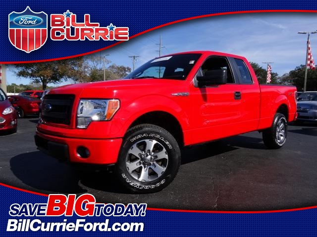 Certified Pre-Owned 2013 Ford F-150 STX 4X4 EXTRA CAB 4WD