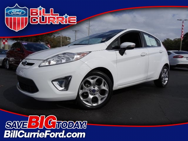 Certified Pre-Owned 2012 Ford Fiesta SES 4D Hatchback