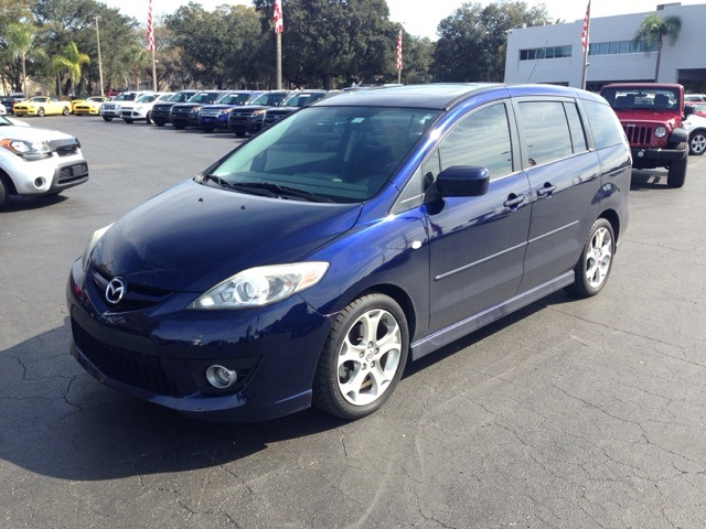 Pre-Owned 2009 Mazda Mazda5 Sport SPORT CROSSOVER, 3RD ROW! 4D Station Wagon